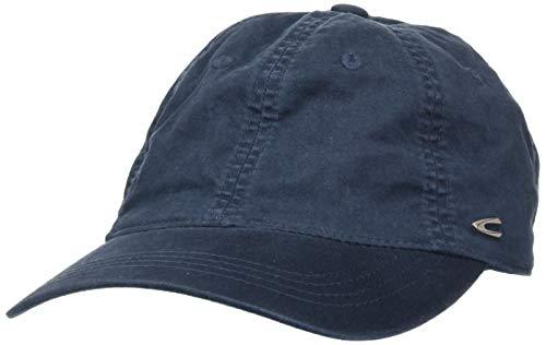 camel active Herren CAP-6-PANEL Schirmmütze, Blau (Navy 43), Large (Herstellergröße: L)