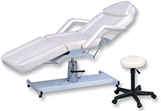 Hydraulic Metal Base Facial/Table/Chair with FREE STOOL