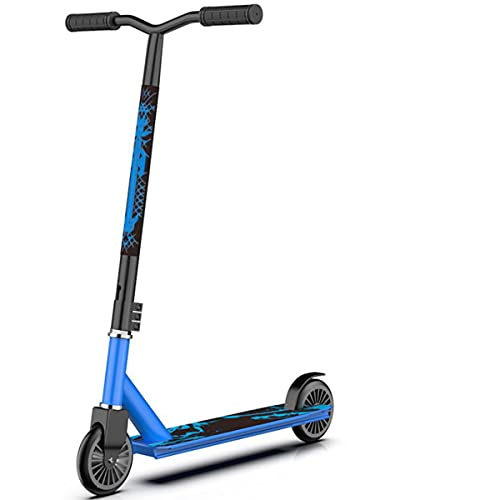 MKKYDFDJ Freestyle Scooter Stunt Scooter, Pro Freestyle Scooter Rodamientos Resistentes a La Acrobacia, Rotación De 360 Grados Scooter para Niños Scooter para Adultos