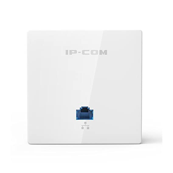 IP-COM IPI 255 Wall Plate Wireless Access Point (White)