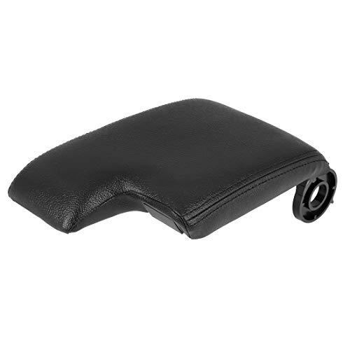 X AUTOHAUX Car Center Console Box Cover Armrest Replacement Black for BMW M3 2001-2006