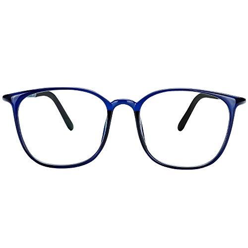 Cyxus Lentes de Filtro Luz Azul Anti Tensión de Ojos Gafas de Computadora Lente Transparentes para…