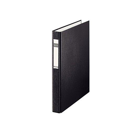Leitz 42120095 Ringbuch Standard, A4, PP, 4 Ringe, 25 mm, schwarz