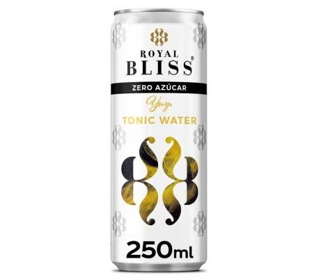 Royal Bliss- Agua Tonica con Matices Exoticos - YUZU - Zero Azúcar - 12 Latas de 25 CL