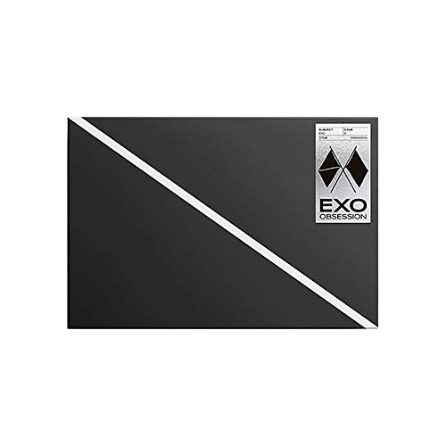 S.M. Entertainment EXO The Sixth Album Obsession Reissue [ EXO Version ] CD+Photo Book+Folded Poster on Pack+Lyric Book+Photo Slide+Photo Card