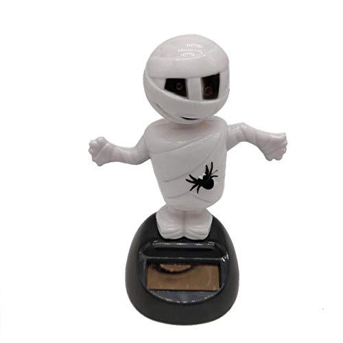 Solar Wackelfigur Halloween Das Puppe Rüttelt Autoinnenausstattung Armaturenbrett Weihnachtsgeschenke Dekoration Kinderspielzeug