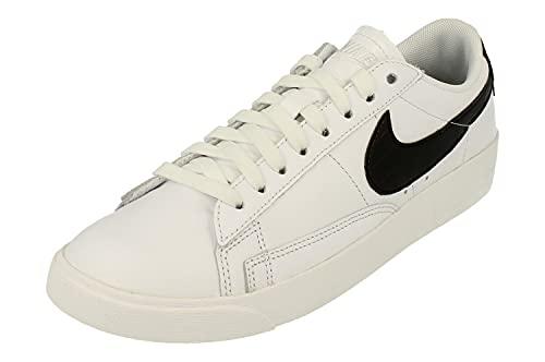 Nike Donne Blazer Low Trainers BQ0033 Sneakers Scarpe (UK 5 US 7.5 EU 38.5, White Black 100)