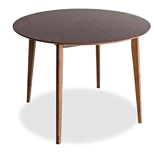 Edloe Finch Round Dining Table 40 inch diameter Walnut