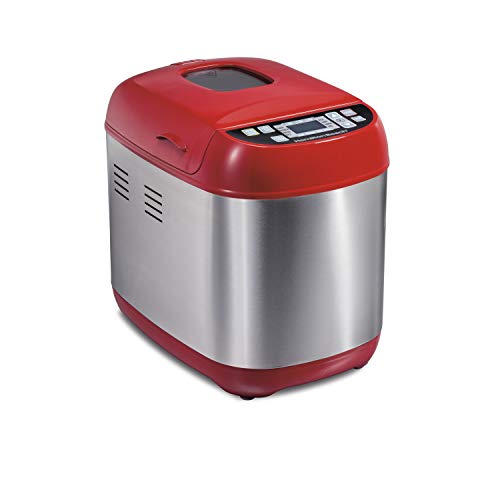 Review Hamilton Beach Artisan Dough &Amp; Bread Maker Home Good - Red