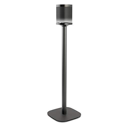 Vogel's SOUND 4301 Pie de altavoces para Sonos One (SL), Cable alargador integrado, Altura: 82 cm, Máx. 5 kg, Negro