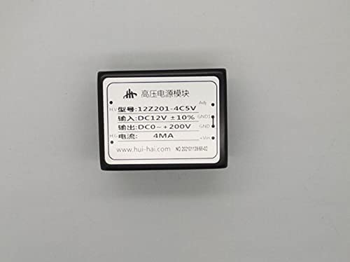 DC High Voltage Power Supply Boost Module DC Positive / Negative 200V Adjustable 4mA Program Control / 10K 12Z201-4C5V