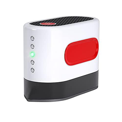 AONESY Mini pressa a Caldo Pressa Facile per Camicie Scarpe per Cappelli Mini pressa Macchine da Stiro per progetti in Vinile HTV Trasferimento di Calore (RossoBianco)
