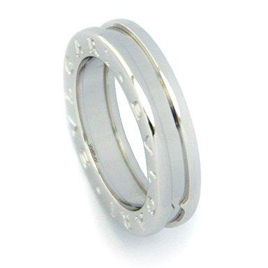 [ブルガリ] 指輪 リング BVLGARI RWG1BAND AN852423 ビーゼロワン ワンバンド メンズ レディース ホワイトゴールド [並行輸入品] 53(約14号)