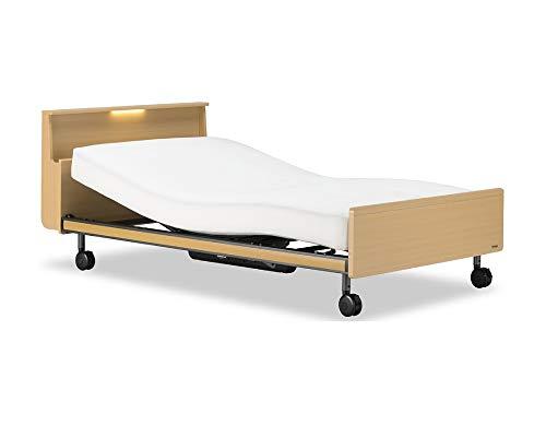 フランスベッド 電動ベッド 介護ベッド クォーレックス CU-202C RX-V マットレス付 (NA色, セミダブル(2モーター・レッグタイプ・有線リモコン))
