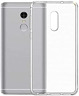 Silicone Back Case Cover By Ineix For Xiaomi Redmi Note 4X - Clear
