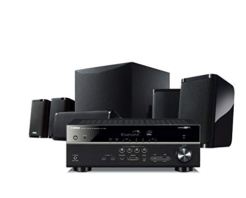 Yamaha YHT5950UBL 4K Ultra HD 51Channel Home Theater System with WiFi Bluetooth and Musiccast Works with Alexa