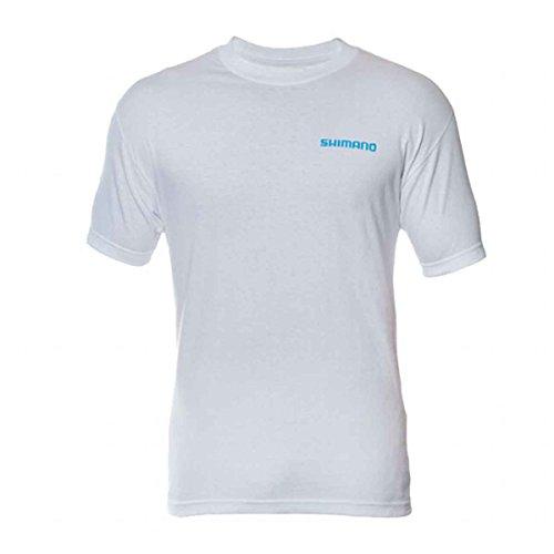 SHIMANO Ateessmgy Camiseta de Manga Corta para Hombre, algodón, Color Gris, tamaño Mediano