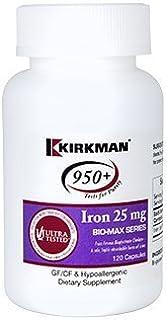 Kirkman Labs - Iron Bio-Max Series 25 mg 120 Capsules