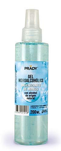 Gel Hidroalcoholico de Prady 200ml(higienizante de manos)