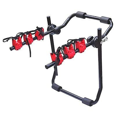 Explora® Foldable 3 Bike Carrier Rear Hitch Mount Bicycle Rack with...