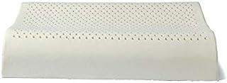 Whbage - Almohada de látex natural, 60 x 40 cm, para el cuidado de la salud, cuello y columna vertebral, almohada de látex ortopédica
