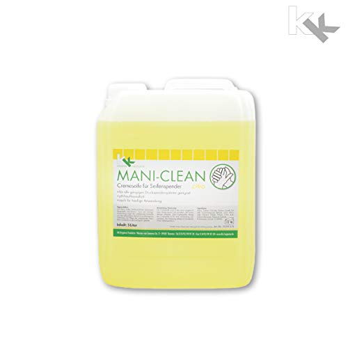 KK Mani-Clean Citro | Cremeseife | Seife | Handwaschseife | 5 Liter Kanister