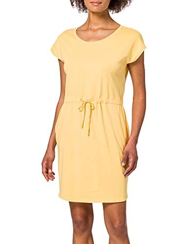 VERO MODA Damen VMAPRIL SS Short Dress GA Color Kleid, Cornsilk, S