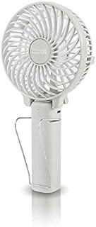 PRISMATE(プリズメイト) 充電式 マルチ ハンディ ファン アロマトレー付 PR-F015 (WH(ホワイト))