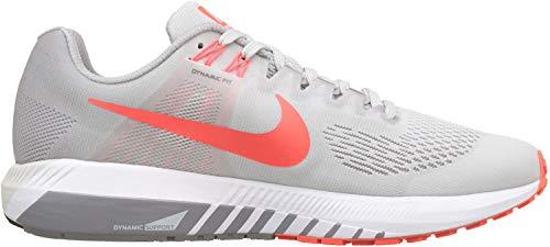 Nike Air Zoom Structure 21, Zapatillas de Running Hombre, Negro (Vast Grey/Bright Crimson/Atmosphere Grey 006), 49.5 EU