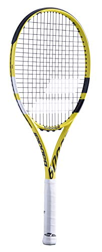 Babolat Boost A Cord Wooden Racket 191-Yellow Black Grip Size: 2