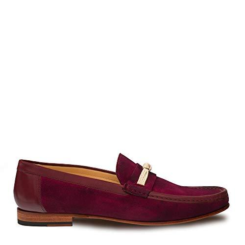 Mezlan Segura Mens Luxury Formal Loafers - Italian Calfskin Slip-On Moccasin with Leather Sole -...