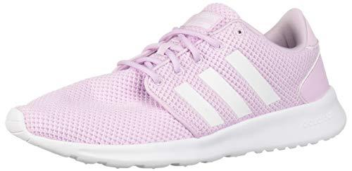 adidas Women's CloudfoamQT Racer Xpressive-Contemporary CloudfoamRunning Sneakers Shoes, aero pink/white/aero pink, 8 M US