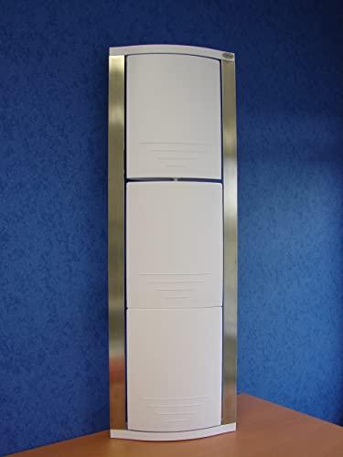 Meuble Rangement d'angle Salle DE Bain - Blanc