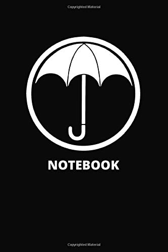 Notebook: Umbrella Academy TV Show Pop Culture Notebook Journal
