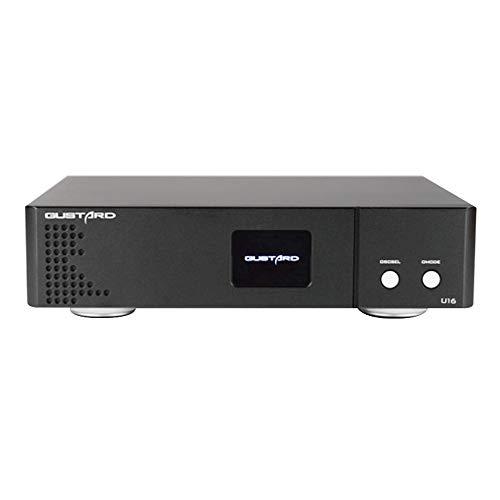 Gustard U16 ES8620 PCM32bit/768K DSD512 DOP Native DSD USB Digital Interface (Black)