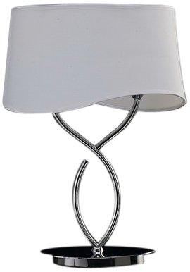 Mantra 1906 Ninette - Lámpara de mesa (E14, 230V, cromado)