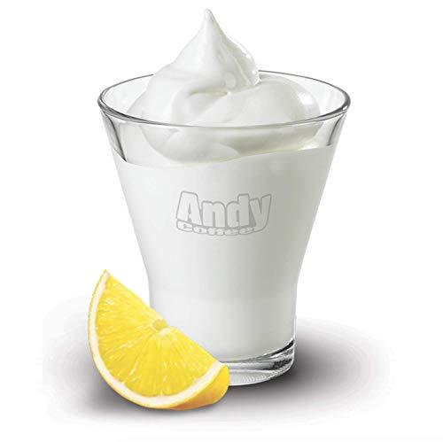 1kg Sorbetto al limone Foschi preparato solubile granitori base acqua