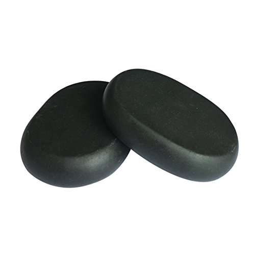 Buy Lifetop 2pcs /lot Massage Large Stones Massage Lava Natural Stone Set Hot Spa Rock Basalt Stone ...
