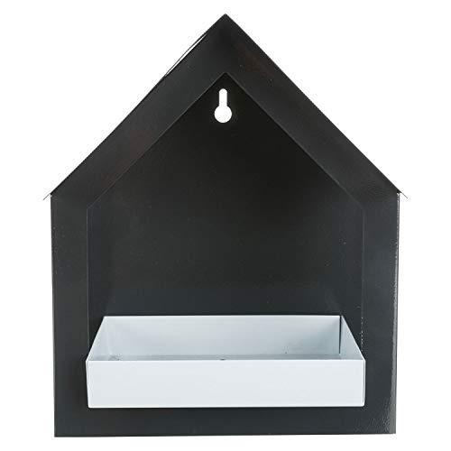 TRIXIE 55430 Futterhaus zur Wandmontage, Metall, 506 g