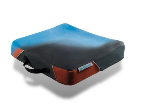 Systam Sitzkissen P371C-HR Foam Rollstuhl-Sitzkissen Anti-Dekubitus langes Sitzen im Rollstuhl Größe 51 x 46 cm