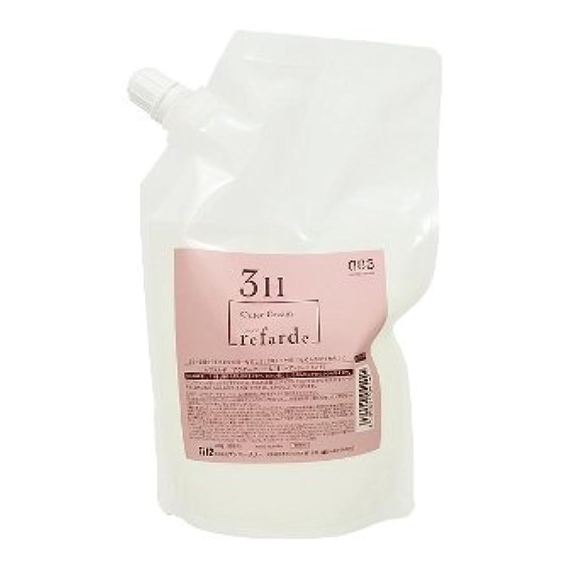 混沌ウェイトレスレガシーナンバースリー ルファルデ アウタークリーム 3H 3剤 500g(レフィル)