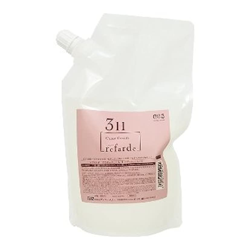 共同選択スクレーパー些細ナンバースリー ルファルデ アウタークリーム 3H 3剤 500g(レフィル)