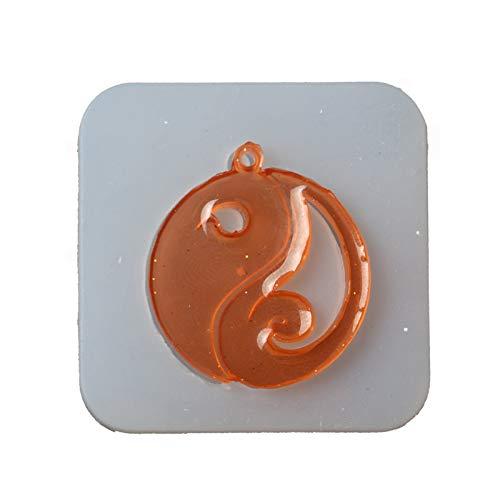 Yin Yang Gua Silicone Décoration De Gâteau Moule En Silicone Moule DIY Chocolat Moule