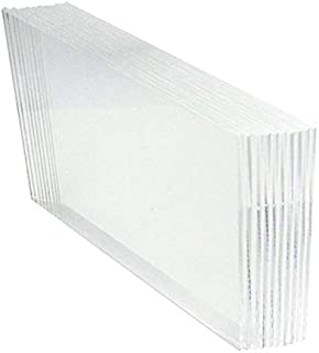 HESIN Clear Acrylic DIY Blank Sign for Wedding Table Number Rack Guest Book Welcom Signs Table Place Card 10 Pack (5