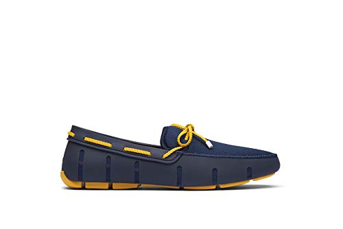 SWIMS Herren Braided Lace Loafer Mokassin, Blau (Navy/Gold Fusion 816), 40 EU