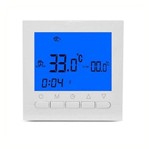 Morninganswer Termostato Inteligente de habitación HY02B05H, Sistema de calefacción eléctrica, Controlador de Temperatura, regulador, termostato controlable por aplicación