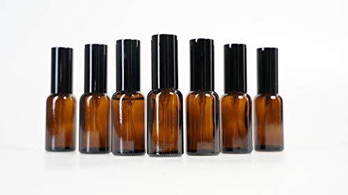 Yizhao Ambar Pulverizador Cristal 30ml, Glass Spray Bottles con [Atomizador],para Aceites Esenciales,...