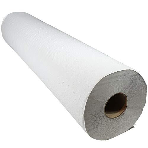 Papel Camilla Masaje Profesional Industrial Rollo Eco - Reciclado Pack 6 unidades 2070gr/uni - Rollos 1 Capa 70 metros Ecologico Natural XXL - S20303