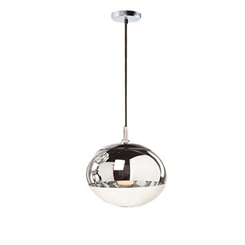Hanglamp hanglamp – Home Electroplating kroonluchter restaurant studie creatieve moderne glazen bol LED kroonluchter (40 cm x 120 cm)