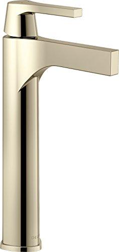 Delta Faucet 774-PN-DST, Polished Nickel Zura Single Handle Vessel Lavatory Faucet